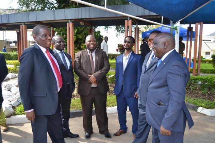 Ministers in Mangochi