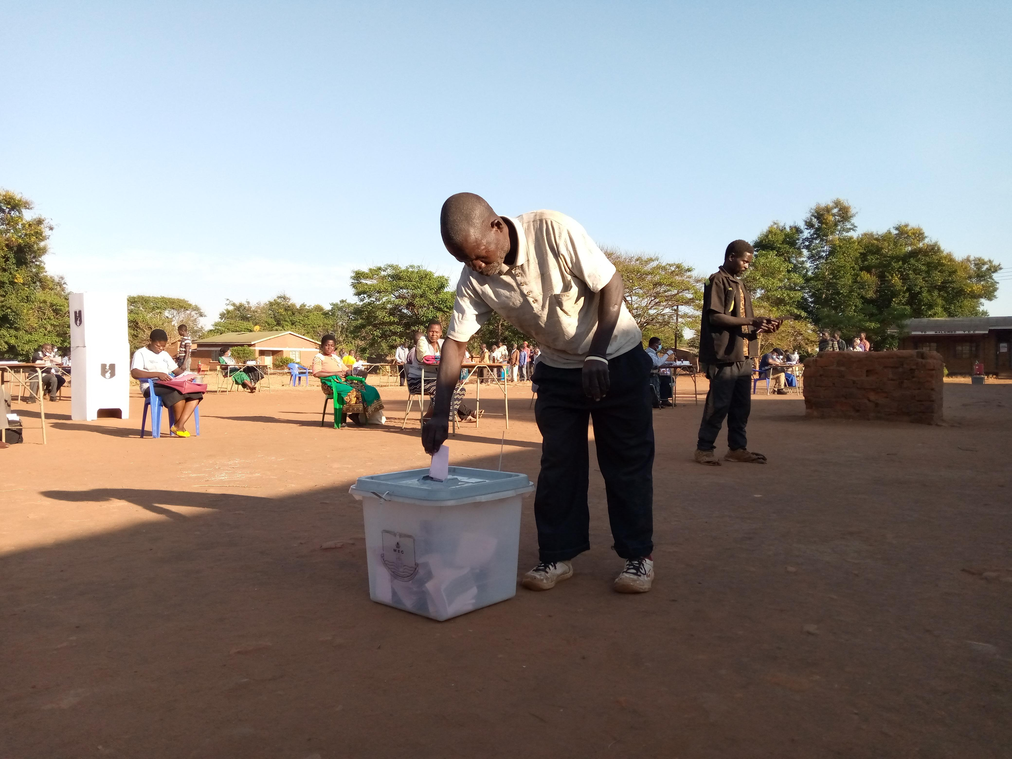 Voting in Lilongwe North West